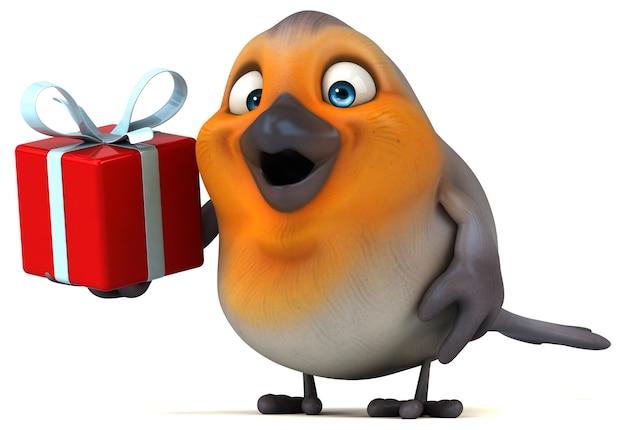 Zabawny ptak