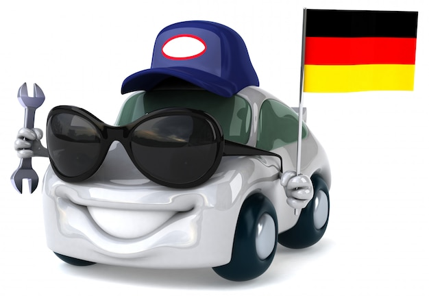 Zabawny samochód