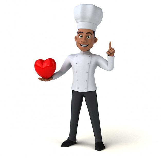 Zabawny szef kuchni