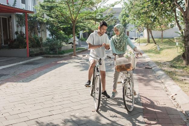 Zabawy na rowerze