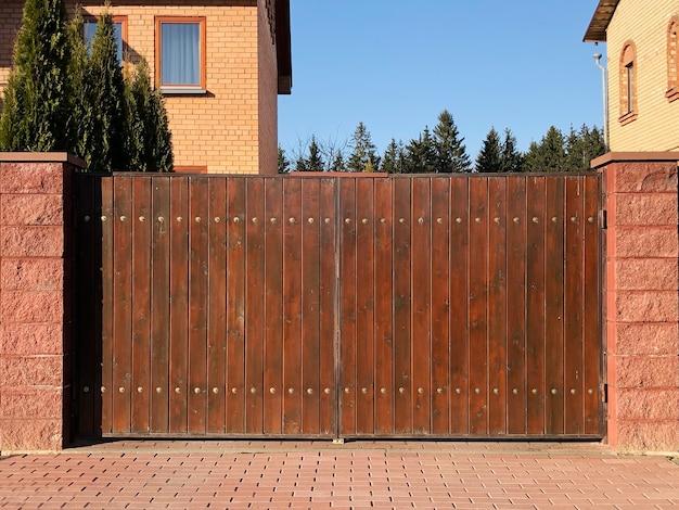 Zabezpieczenie ogrodzenia drewnianego.