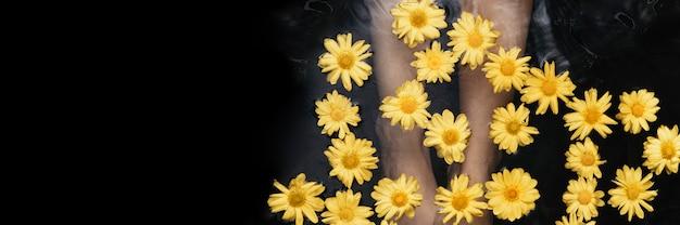 Zabieg do kąpieli i terapii kwiatowej
