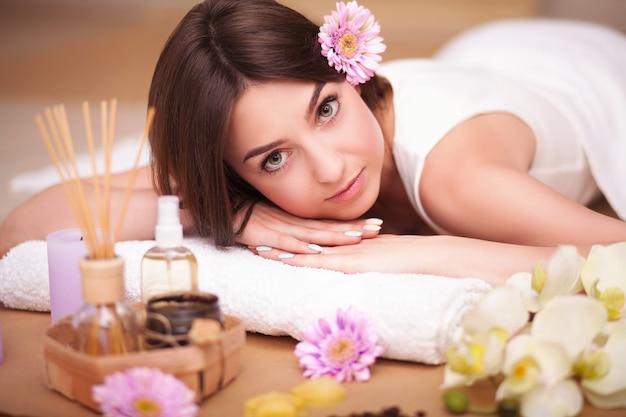 Zabieg spa masażu ciała