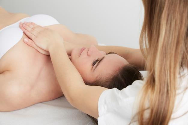 Zabiegi osteophaty i masażu