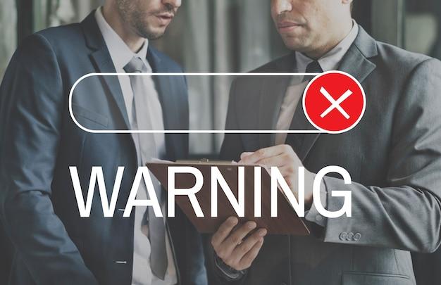 Zablokowane odrzucone odrzucenie odmów grafiki