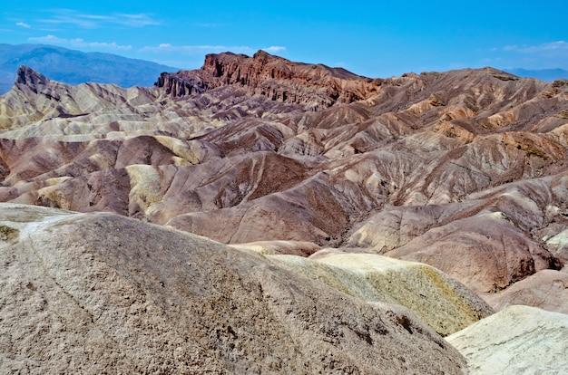 Zabriskie point, death valley, kalifornia, usa