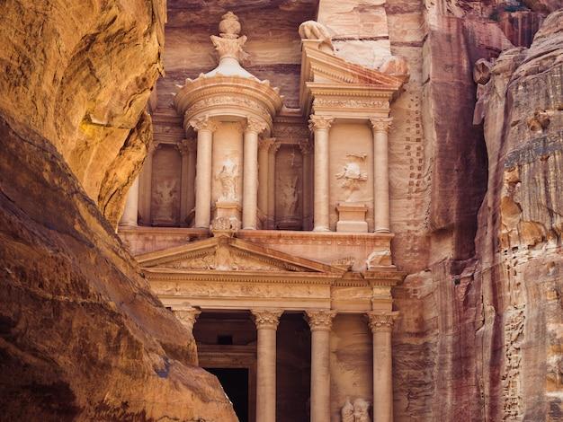 Zabytki starożytnego miasta petra