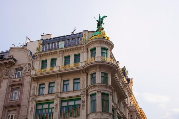 Zabytkowy budynek w wiedniu