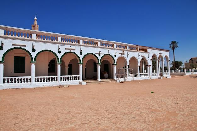 Zabytkowy meczet w omdurman chartum w sudanie