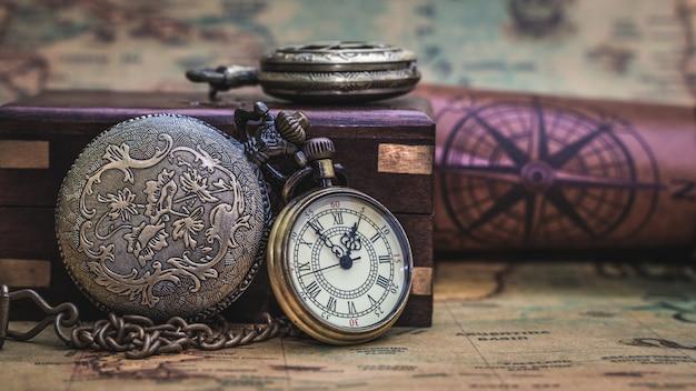Zabytkowy zegarek kieszonkowy