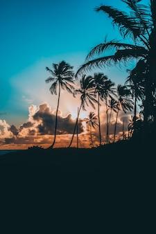 Zachód słońca na karaibach