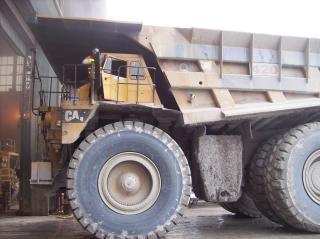 Zaciągu ciężarówka