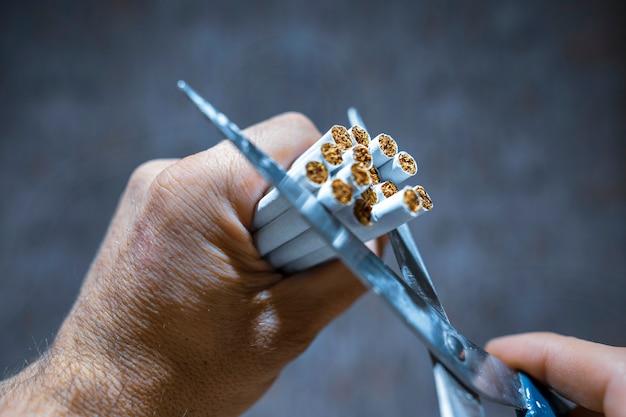 Żadnych papierosów do palenia tytoniu