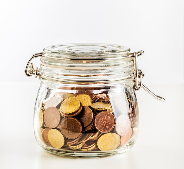 Zainwestuj w bitcoincoin w słoiku