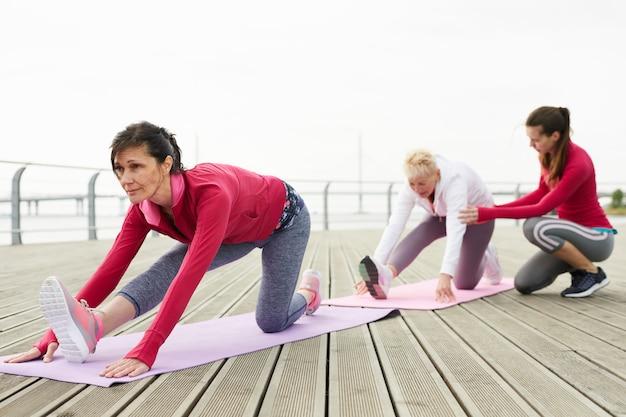 Zajęcia jogi dla dojrzałych kobiet