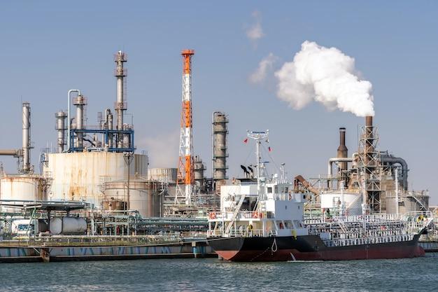 Zakład fabryki chemikaliów