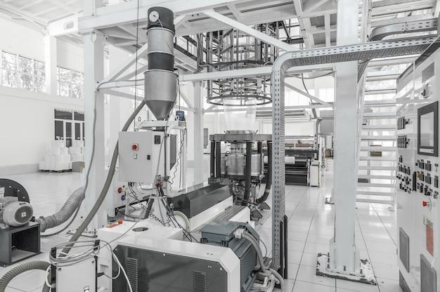 Zakład i zakład do produkcji polietylenu i celofanu do pakowania