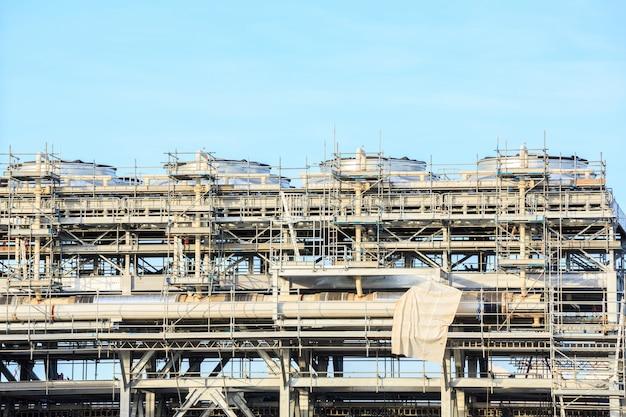 Zakład rafinerii lng