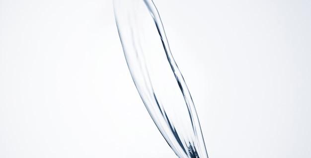 Zakończenie abstrakta wody kształt z kopii przestrzenią