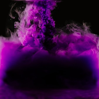 Zakończenie pluśnięcie purpurowa farba