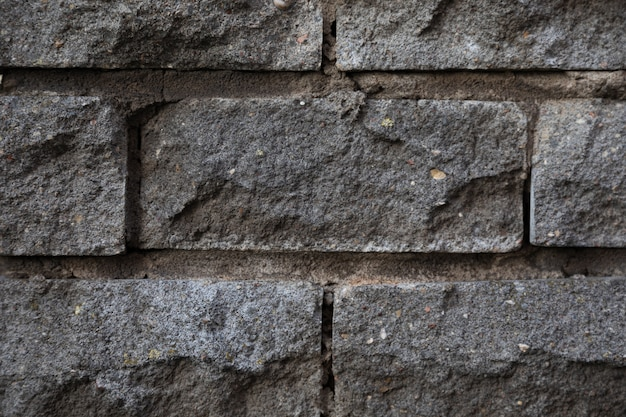 Zakończenie szara dekoracyjna brukowiec ściany tekstura