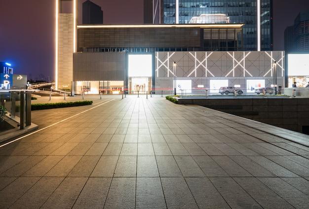Zakupy centrum handlowego budynek przy nocą, chongqing pieniężny miasto, chiny