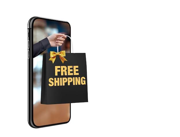 Zakupy online koncepcja
