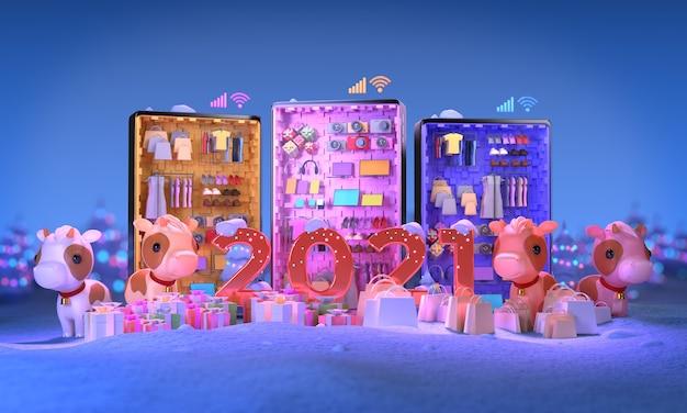 Zakupy online na zimową wyprzedaż