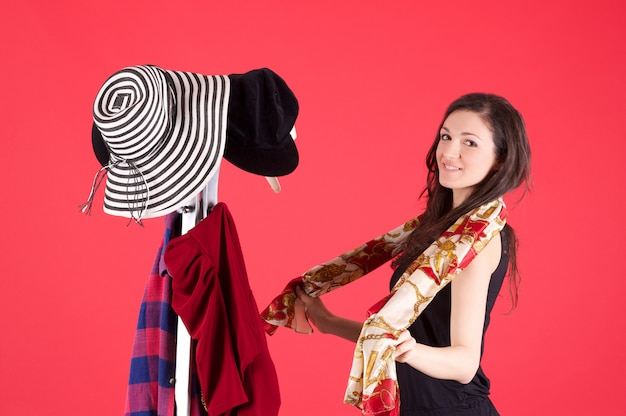 Zakupy w sklepie z modą