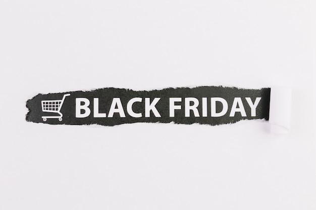 Zaloguj się z czarnym napisem piątek