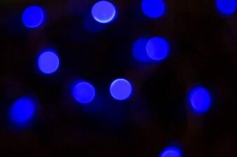 Zamazany obraz świątecznych świateł
