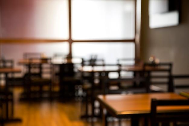 Zamazany obraz japońskiej restauracji do użytku w tle.