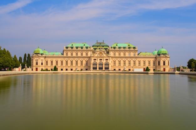 Zamek belvedere, zabytkowy kompleks budynków, wiedeń