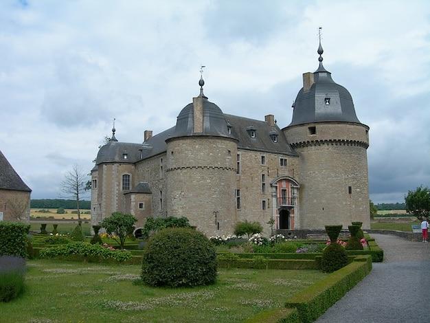Zamek chteau de belgia lavaux sainte anne pałac