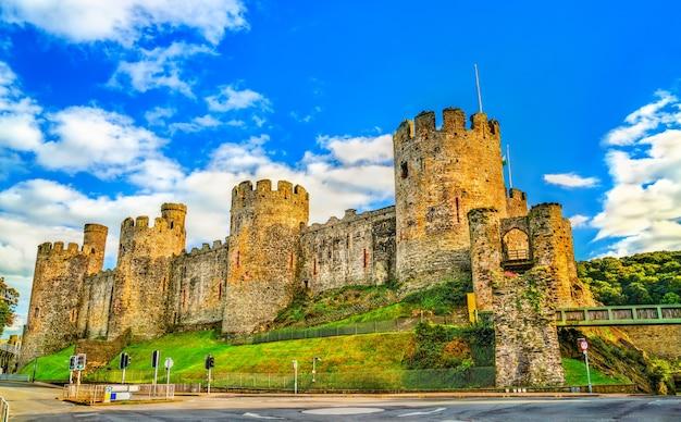 Zamek conwy, światowe dziedzictwo unesco w walii, wielka brytania