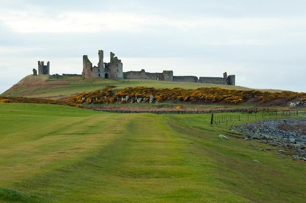 Zamek dunstanburgh