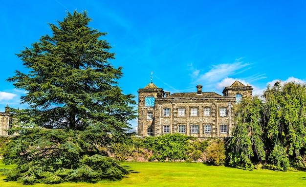 Zamek howard w north yorkshire - anglia, wielka brytania
