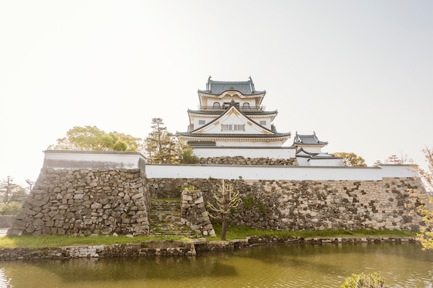 Zamek kishiwada w kishiwada city, osaka