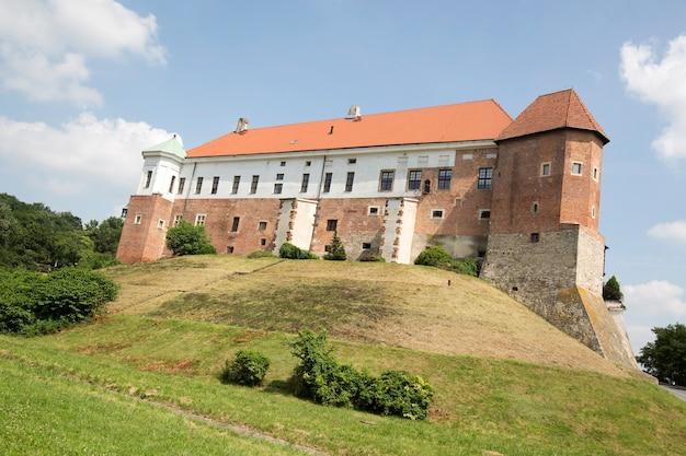 Zamek królewski w sandomierzu w polsce