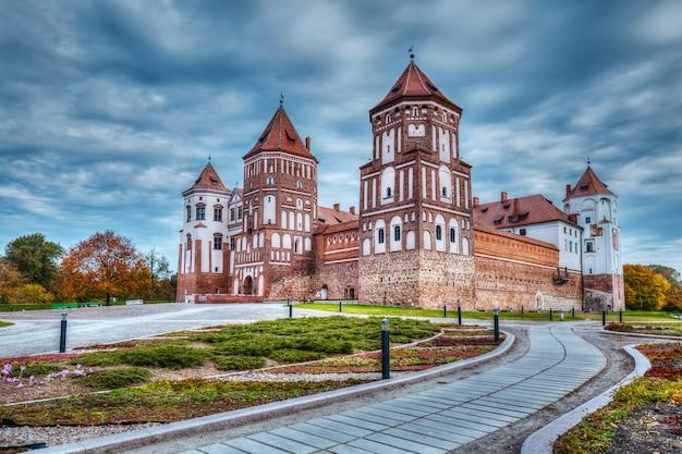 Zamek mir na białorusi