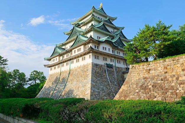 Zamek nagoja, japoński zamek w nagoji, japonia