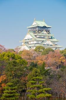 Zamek osaka w japonii