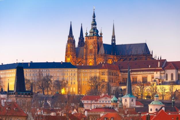 Zamek praski i mala strana, republika czeska
