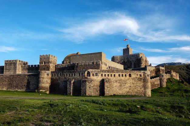 Zamek rabati w gruzji, słynny historyczny punkt orientacyjny