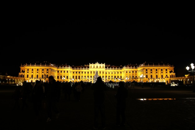 Zamek schonbrunn w wiedniu