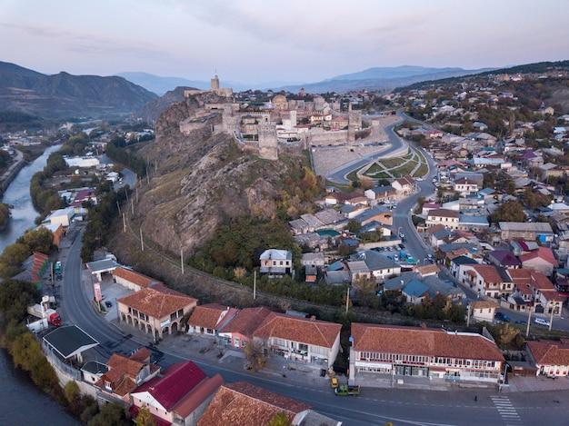 Zamek twierdzy rabati w mieście achalciche w południowej gruzji.