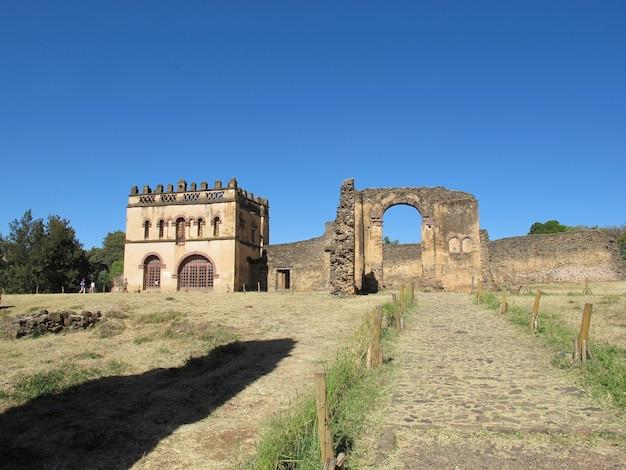 Zamek w mieście gondor, etiopia