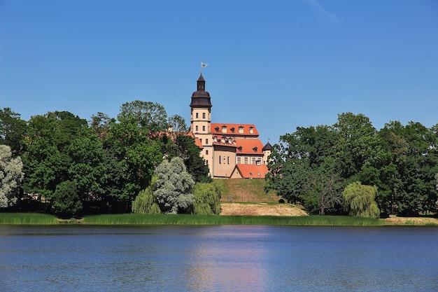 Zamek w nieświeżu w kraju białorusi