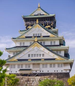 Zamek w osace. japonia