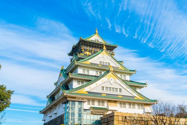 Zamek w osace w osace w japonii